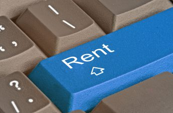 rent key on keyboard lets you collect rent online