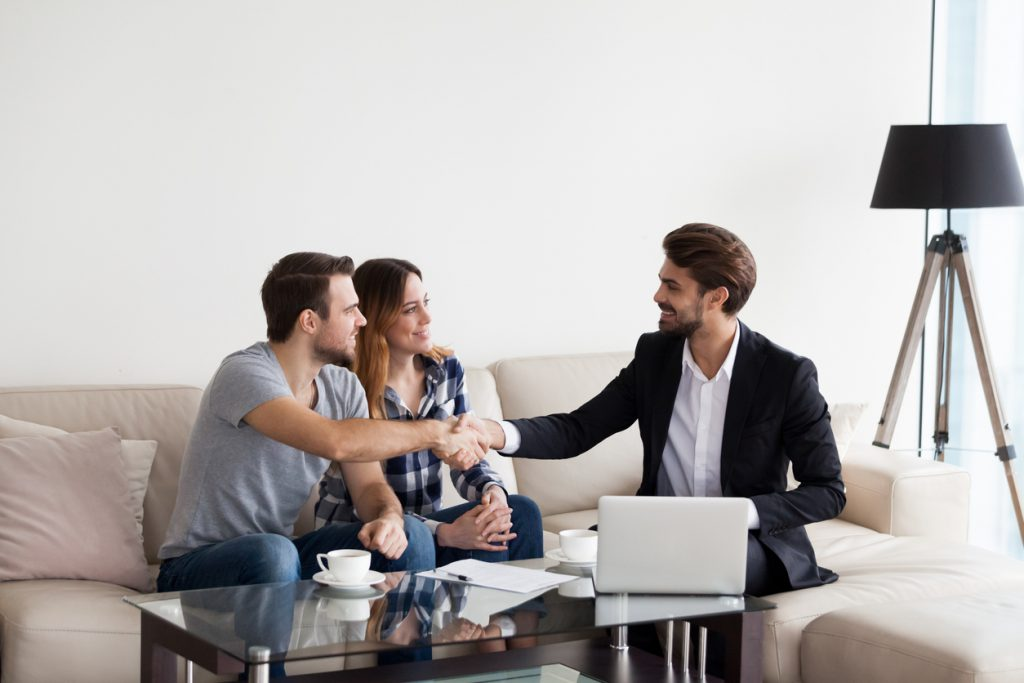 signing the rental agreement after the tenant selection process