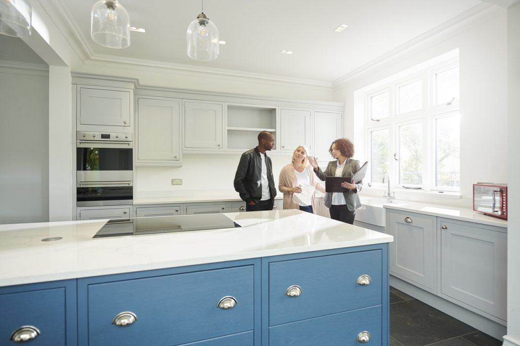 part of the tenant selection process is to show applicants the property