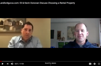 kevin and eli discuss buying rentals