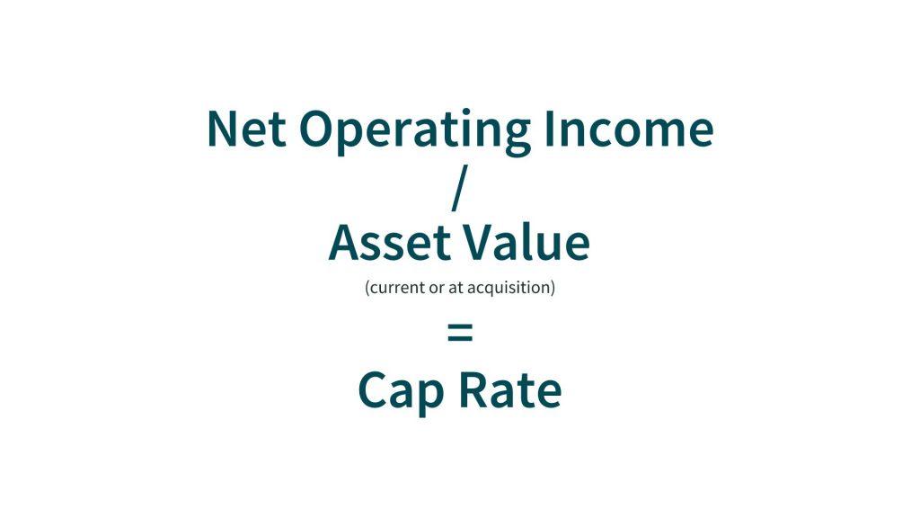 rental property accounting metric cap rate
