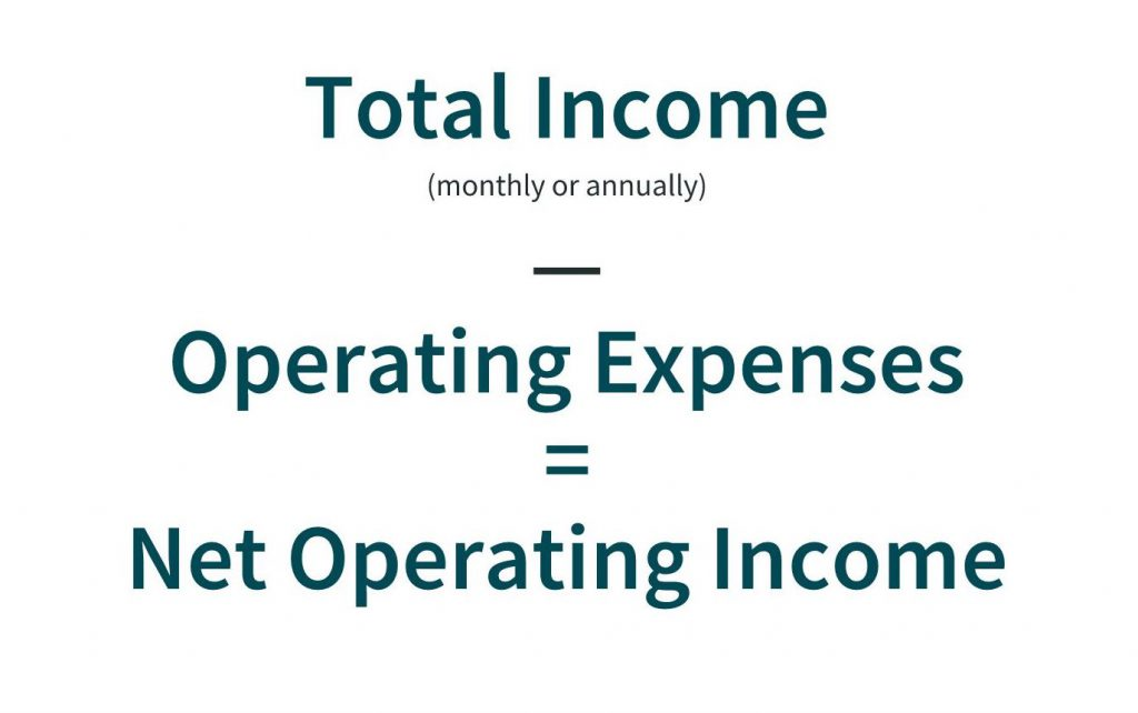 rental property accounting metric net operating income