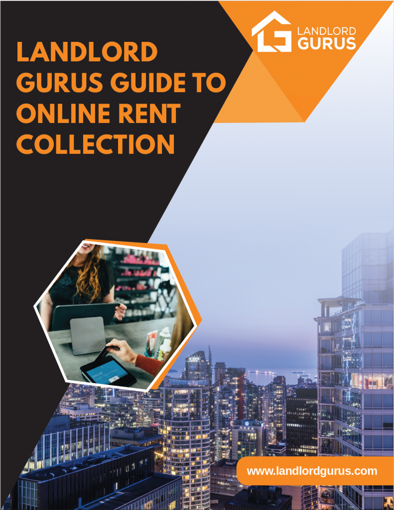 landlord gurus guide to online rent collection cover